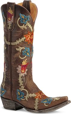 Gorgeous Old Gringo Priscila cowgirl boots are distinctively vintage