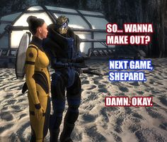 This was pretty much every conversation in my head while playing Jana. (Mass Effect Blog by KurouTsubasa)