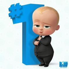 Can't get over the cutness of The Boss Baby movie? Check out this amazing the Boss Baby poster collection. Happy Birthday Boss, Baby Boy 1st Birthday Party, Baby Motiv, Birthday Pinata, Baby Posters, Boss Baby, Baby Cartoon, Creations, Names Baby