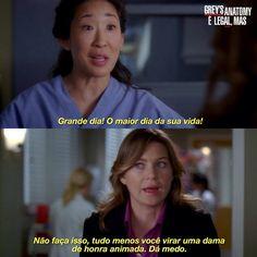Grey's Anatomy, Cristina Yang, Cinema, Greys Anatomy Memes, Glee, Tv Shows, Humor, My Love, Movies