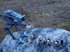 Early morning Imperial patrol -CD  Ambush! 1/12  #afol #starwars #lego #legos #legostagram #legostarwars #legopix #legogram #legopics #legominifigures #legomania #starwars #rebels #empire #galacticcivilwar #alliancetorestoretherepublic #rebelalliance #atdp #atdpwalker #stormtrooper #inquisitor #patrol #ambush #_brickpix_ by _brickpix_