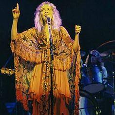 Stevie Nicks ☝️amber shawl