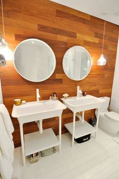 Windowless Bathrooms: 9 That Aren't Bad at All (And Why!)