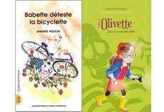 6 #romans pour lecteurs débutants #livre #lecture #enfants
