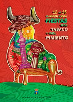 Poster competition for a Festival by Daniel del Ama, via Behance