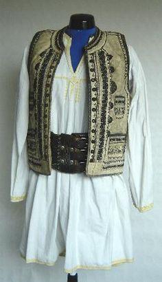 Men's costume from Transylvania, Sibiu region