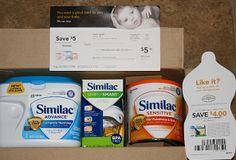 Two Free Containers Of Similac Formula, A Bottle And More!!
