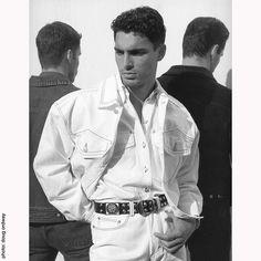Marco Deconciliis for Versace Jeans Couture 1990s photo #dougordway #gianniversace #versace #versacejeans #milano #jeans #fashion