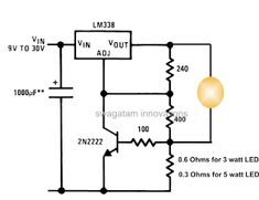Variable Power Supply 2.6V to 24V DC 2.5 Amps Using LM723