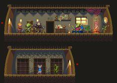 Inside slaver's house by iSohei on deviantART