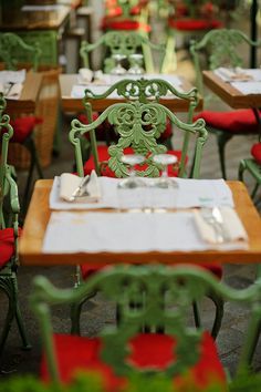 Paris, table for two