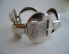 Bracelet   Orlandini for Uno a Erre.  Sterling silver. ca. 1970s, Italy