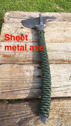 Firefighter sheet metal axe