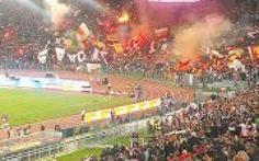 Una splendida Roma, sotto gli occhi di Maradona #roma # #totti # #napoli # #maradona