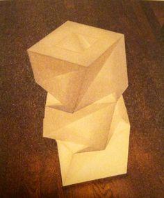 Réalisé à partir d'un logiciel destiné à créer des objets tridimensionnels à partir d'une simple feuille de papier pliée. Le Reality Lab. l'a adapté pour créer dix patrons de base se transformant en vêtements ou en lampes.