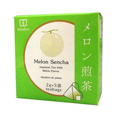 Melonflavoured sencha green tea bags are perfect for a tea breakat home and at work. Melongreen tea has a sweet and lasting flavour.Foundedin 1790 in Kyoto, Fukujuen is one of the most respected and prestigious green tea sellers in Japan.  Gift packs with 6or 9flavoured tea bags available.  6 assorted flavoured sencha green tea 9 assorted flavoured sencha green tea  Producer: Fukujuen, Kyoto Country of manufacturing: Japan Amount: 2g x 5 bags in a box Shelf life: 365 days Delivery…