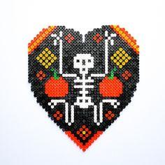 Halloween hama perler beads by Little Miss Productive