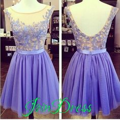 145 usd.A-Line Homecoming Dress,Appliques Homecoming Dress,Short Prom Dress,Mini Party Gowns