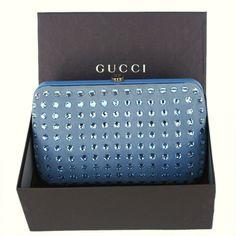 b4b6f205624 GUCCI New  1790 Authentic Designer GG Logo Evening Handbag Bag Clutch Aqua  Blue Brand New