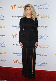 'You never know': Tori Kelly (pictured) has admitted she's keen to collaborated with One Direction star Niall Horan and hinted something could already be in the works