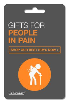 If you're shopping for someone who lives with pain on a daily basis, then you're probably looking for a gift that will make their life a little bit easier.  Take a look at this compiled list of products sure to help! Natural Pain Relief, Back Pain Relief, Wellness Tips, Health And Wellness, Ways To Stay Healthy, Pain Management, Yoga For Beginners, For Your Health, Health Motivation