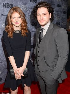 Love on the red carpet: At the Seattle premiere of Game Of Throned in March 2013