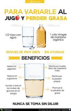 Para variarle al jugo y perder peso