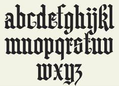 Letterhead Fonts / LHF Hindlewood / Old English Fonts
