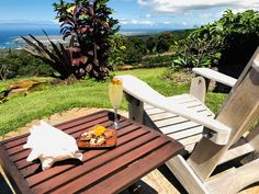 The perfect place to lounge at the perfect place to vacation.  #hawaiitravel #hawaiivacation #hawaiiangetaway #romanticgetaway #honeymoon #honeymooninspo Hawaii Vacation, Hawaii Travel, Renting, Elopements, Romantic Getaway, Hawaii Wedding, Tropical Garden, Big Island, Bed And Breakfast