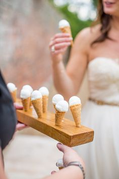 Ice Cream Natural Soft Stylish Luxe Wedding http://www.katherineashdown.co.uk/