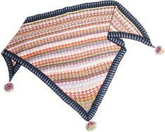 Stricken Schal Mongoliatuch Schals mit stricken anleitung Christel Seyfarth aus Dänemark