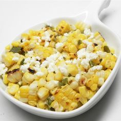 Grilled corn just might be the ultimate summer salad ingredient. Get 14 of our favorite grilled corn salad recipes now. Corn Salad Recipes, Corn Salads, Chili Recipes, Veggie Recipes, Chicken Recipes, Healthy Recipes, Roasted Corn Salad, Grilled Corn Salad, Easy Summer Salads