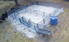 Permanent Cattle Yards