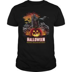 ab487e7d Make this awesome halloween tee Halloween Shirt Halloween Biggest Party  Death as a great gift Shirts T-Shirts for Halloween costume