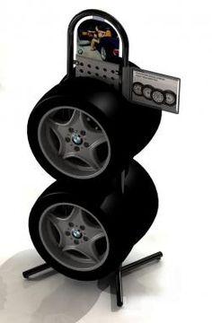Stacking Metal Tire Display Shelf - Buy Tire Shelf ...