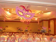 Quince años # Centros de mesa para quince años # arreglos de quince años # decoracion de quinceaños