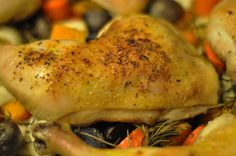 Easy Roasted Chicken and Veggies – IC Friendly Dinner « Interstitial Cystitis Diet