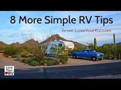 Eight RVing Quick Tips