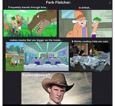 Ferb Fletcher for the 12th doctor. Yes, yes! I approve. A thousand times, yes! Vanessa needs to be his companion!