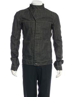 b80ec5f03c2 Fitted Paneled Denim Jacket