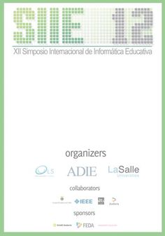 SIIE 12's registration design #design #congress #symposium #education