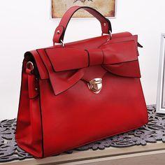 (FL006616) Spring Sweet Range Of Red Butterfly Ladies 2012 New Women Messenger Bag