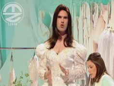 Jimmy Carr Dresses as Kate Middleton