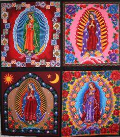 .....Virgin de Guadalupe Fabric