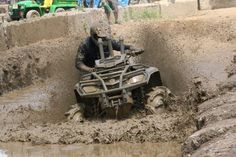 ATV Mud Bog at the Fair