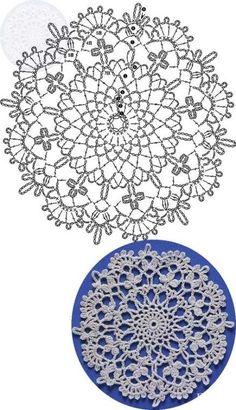 New crochet blanket flower ganchillo 15 ideas Crochet Motif Patterns, Granny Square Crochet Pattern, Crochet Blocks, Crochet Diagram, Crochet Round, Crochet Chart, Crochet Squares, Crochet Home, Thread Crochet