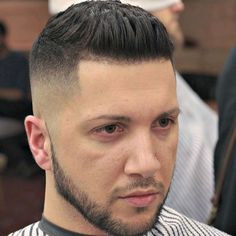 High Skin Fade with Thick Brushed Up Hair Popular Short Hairstyles, Short Hairstyles For Thick Hair, Quick Hairstyles, Curly Hair Styles, Toddler Activity Bags, The Quiff, High Skin Fade, Undercut Hairstyles, Fade Haircut