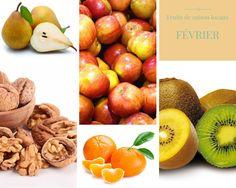 Les fruits et légumes de saison pour le mois de Février ! Pour une cuisine saine, locale et zéro déchet !