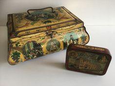 2 stuks Antieke Napoleon Blikken - Wed. J. Bekkers & Zoon Dordrecht - Begin 1900 - Catawiki