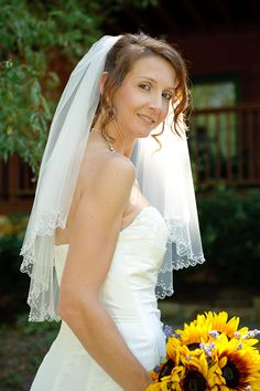 Wedding photo from the Entertaining Angels cabin near Gatlinburg, Tennessee